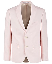 Big Boys Pink Linen Suit Jacket
