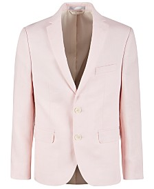 Lauren Ralph Lauren Big Boys Pink Linen Suit Jacket
