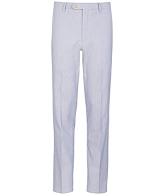 Big Boys Stretch Stripe Suit Pants