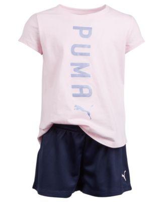 PUMA Toddler Girls Short Set
