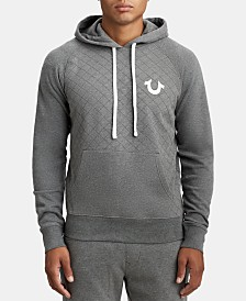 True Religion Men's Logo Graphic Hoodie