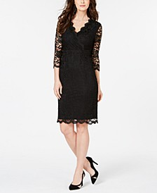 Lace Sheath Dress, Created for Macy's