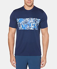 Men's Palm Tree Graphic Swim T-Shirt