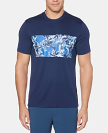 Perry Ellis Men's Palm Tree Graphic Swim T-Shirt