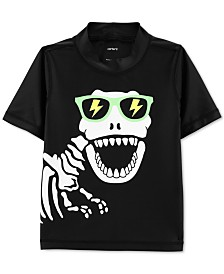 Carter's Toddler Boys Dino Skeleton Rash Guard