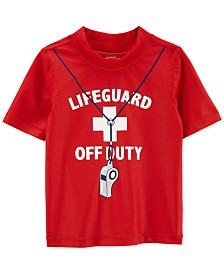 Carter's Toddler Boys Lifeguard Graphic Rash Guard