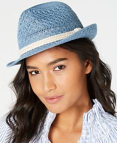 cb118dd77 Womens Fedora Hats - Macy's