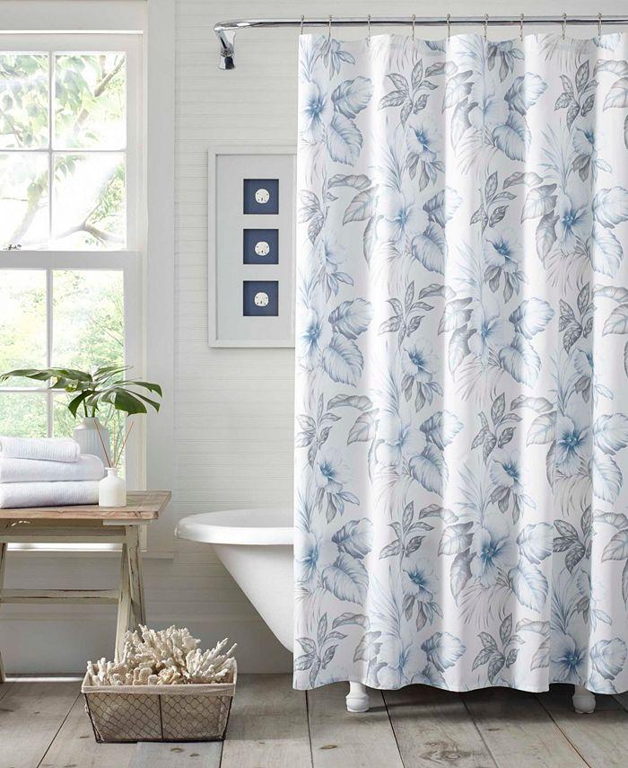 Tommy Bahama Home - Tommy Bahama Casablanca Garden Shower Curtain