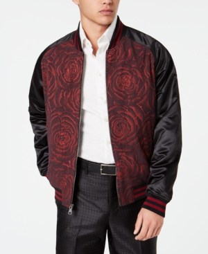 b26c9b9598f9 Click here for Tallia Mens Slim-Fit Rose Bomber Jacket prices