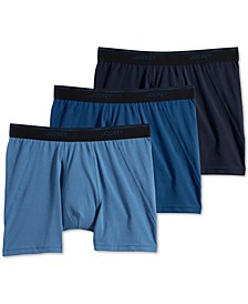 Men's 3-Pk. MaxStretch Boxer Briefs
