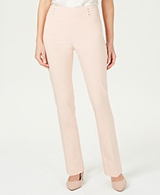 Studded Pull-On Tummy Control Pants, Regular, Short, and Long Lengths, Created for Macy's