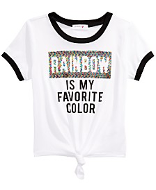 Beautees Big Girls Reversible Sequin Top