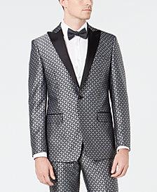 Tallia Men's Slim-Fit Medallion Jacquard Dinner Jacket
