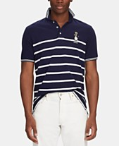 9843902f5bde Polo Ralph Lauren Men s Classic-Fit Captain Bear Polo Shirt