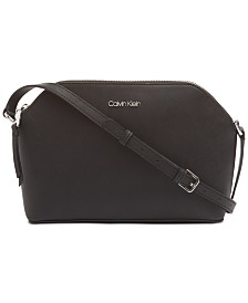 Calvin Klein Mercy Leather Crossbody