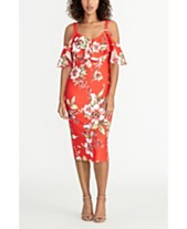 c4876c6b8c23 RACHEL Rachel Roy Off The Shoulder V-Neck Ruffle Dress
