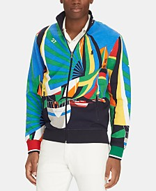 Polo Ralph Lauren Men's Double-Knit Nautical Track Jacket