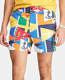 "Polo Ralph Lauren Men's 6"" Classic-Fit Polo Prepster Shorts"
