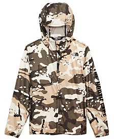 The North Face Big Boys Camo Flurry Hooded Jacket