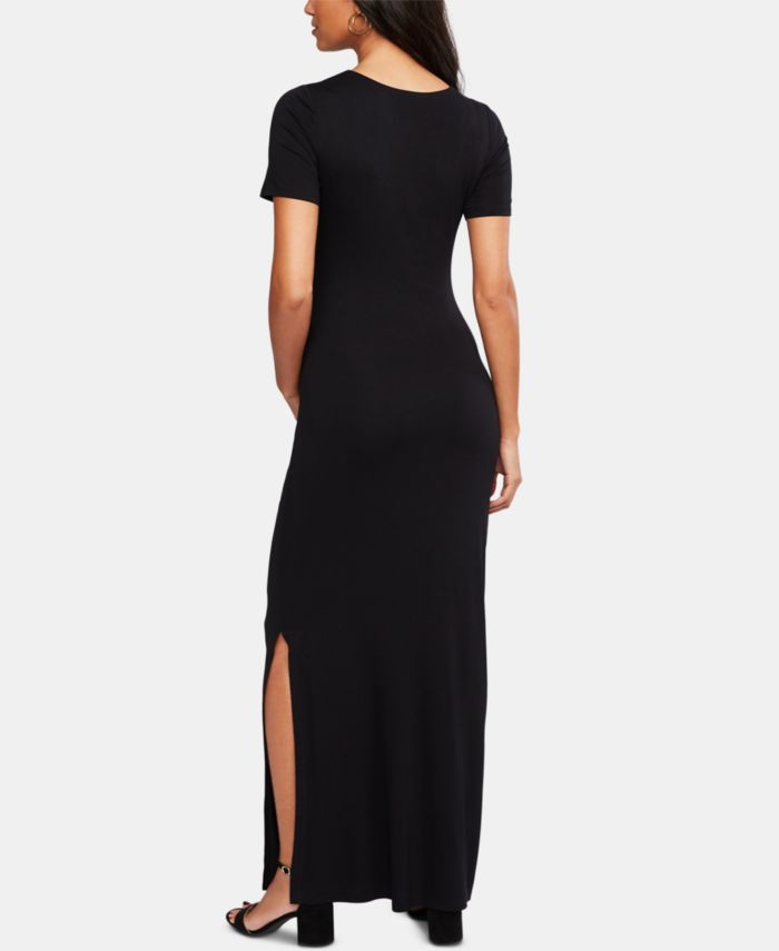 A Pea in the Pod Luxe Ruched Maternity Maxi Dress & Reviews - Maternity - Women - Macy's