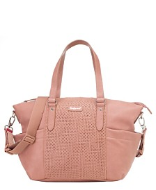Babymel Anya Faux Leather Diaper Bag