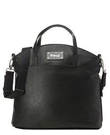 Babymel Grace Faux Leather Diaper Bag