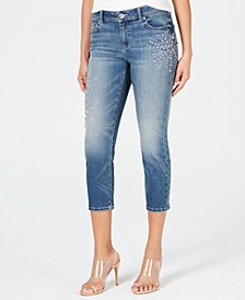 INC Embellished Capri Jeans, Created for Macy's