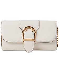 Lauren Ralph Lauren Cornwall Pebble Leather Crossbody