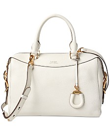 Lauren Ralph Lauren Pebble Leather Cornwall Satchel