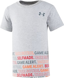 Under Armour Little Boys Take Notice Graphic T-Shirt