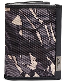 Men's Alpha Printed Gusseted Card Case