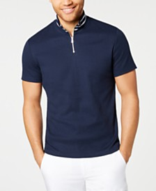 I.N.C. Men's Quarter-Zip Polo