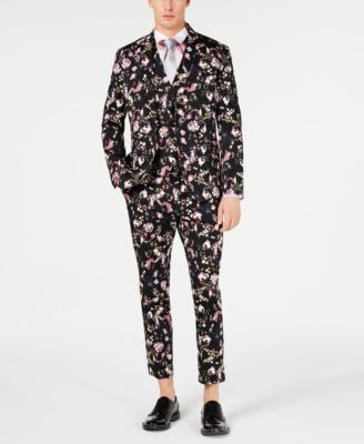 I.N.C. Men's Slim-Fit Floral Blazer, Created for Macy's
