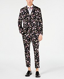 INC Men's Floral Suit, Created for Macy's
