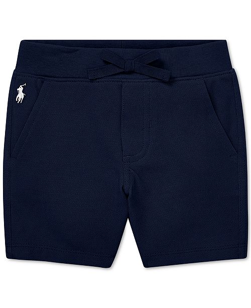 c07508e7f Polo Ralph Lauren Baby Boys Cotton Mesh Pull-On Shorts   Reviews ...