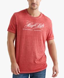 Lucky Brand Miller High Life Men's Graphic T-Shirt