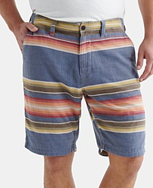 Men's Regular-Fit Stretch Stripe Shorts