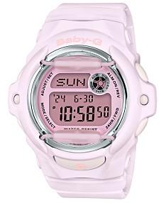 d6a274fc59a2 Baby-G Women's Digital Lavender Resin Strap Watch 42.6mm
