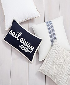 Lacourte Coastal Decorative Pillow and Throw Collection