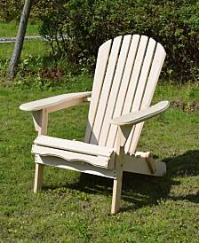 Foldable Adirondack Chair Kit
