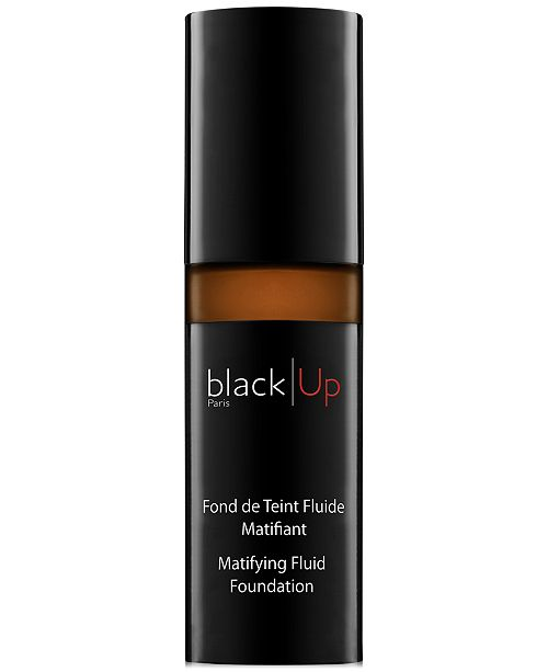 black Up Matifying Fluid Foundation