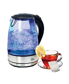 Elite Platinum 1.7L Cordless Glass Kettle