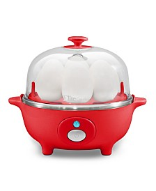 Elite Cuisine Automatic Easy Egg Cooker, 7 Eggs
