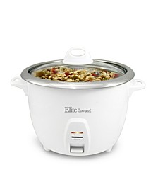 Elite Platinum 10 Cup Rice Cooker with Stainless Steel Cooking Pot