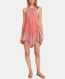 Free People Make Me Yours Halter Mini Dress