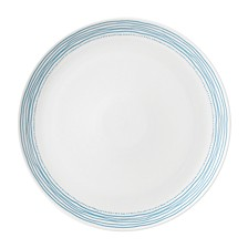 Crafted by Royal Doulton Polar Blue Dots Dinner Plate