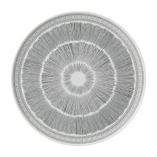 ED Ellen DeGeneres Crafted by Royal Doulton Charcoal Grey Lines Serving Platter