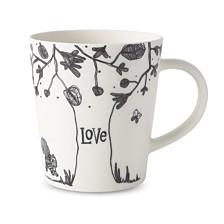 ED Ellen DeGeneres Crafted by Royal Doulton Love Tree Mug