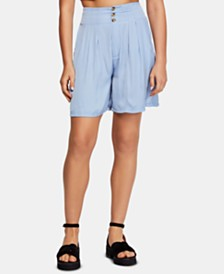 Free People Brittany Long Beach Shorts