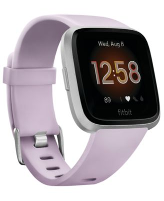 Fitbit Versa Lite Lilac Strap Smart Watch 39mm